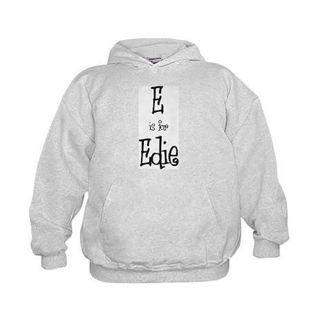 E Is For Edie Kids Hoodie