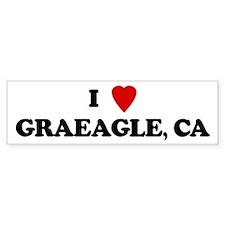 I Love GRAEAGLE Bumper Bumper Sticker