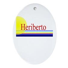 Heriberto Oval Ornament