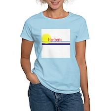 Heriberto Women's Pink T-Shirt