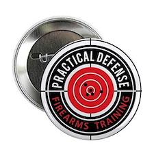 "Practical Defense Firearms Training 2.25"" Button"
