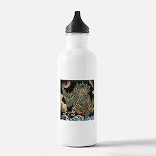 Vintage Hokusai Dragon Water Bottle
