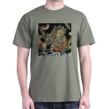 Vintage Hokusai Dragon T-Shirt