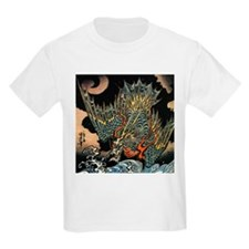 Vintage Hokusai Dragon T-Shirt