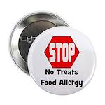"STOP No Treats, Food Allergy Pet/Dog 2.25"" Bu"