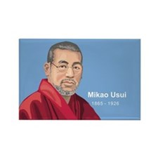 Mikao Usui Reiki, Rectangle Magnet