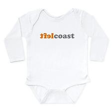 Cute Sf bay Long Sleeve Infant Bodysuit
