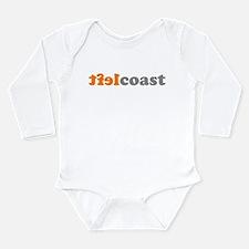 Funny Hip hop nation Long Sleeve Infant Bodysuit