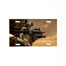 Colt M4 carbine Aluminum License Plate