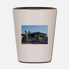 Shooters give the signal! Shot Glass
