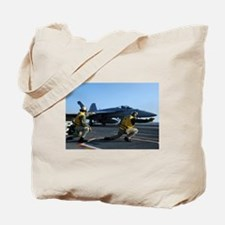 Shooters give the signal! Tote Bag