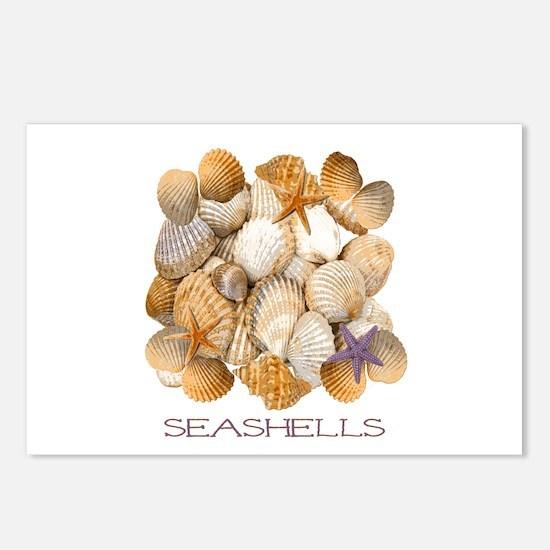 Seashells 2 Postcards (Package of 8)