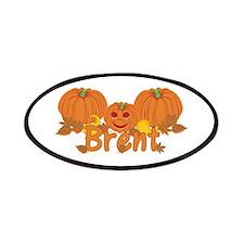 Halloween Pumpkin Brent Patches