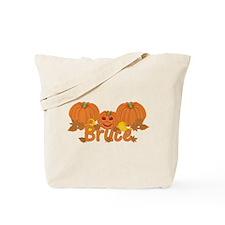 Halloween Pumpkin Bruce Tote Bag