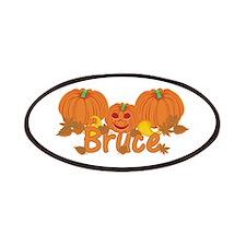 Halloween Pumpkin Bruce Patches