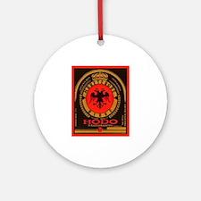 Albania Beer Label 4 Ornament (Round)