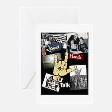 DEAF TALKIES copy.jpg Greeting Cards (Pk of 20)
