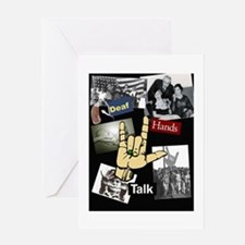 DEAF TALKIES copy.jpg Greeting Card