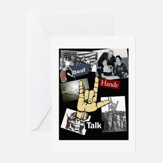 DEAF TALKIES copy.jpg Greeting Card