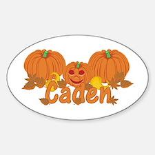 Halloween Pumpkin Caden Decal