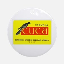 Angola Beer Label 1 Ornament (Round)