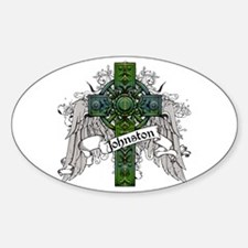 Johnston Tartan Cross Decal