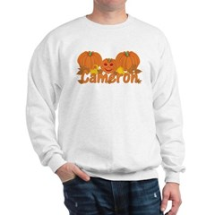 Halloween Pumpkin Cameron Sweatshirt