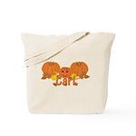 Halloween Pumpkin Carl Tote Bag