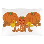 Halloween Pumpkin Carl Pillow Case