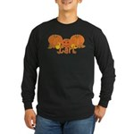 Halloween Pumpkin Carl Long Sleeve Dark T-Shirt