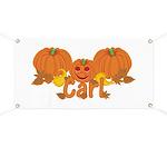 Halloween Pumpkin Carl Banner