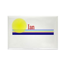 Ian Rectangle Magnet