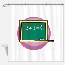 Math Shower Curtain