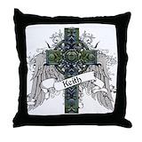 Family keith Throw Pillows
