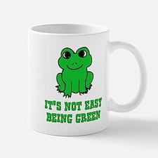 Not Easy Being Green Frog Mug