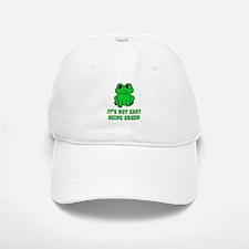 Not Easy Being Green Frog Baseball Baseball Cap