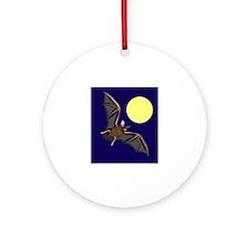 Moon Ornament (Round)