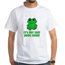 Not Easy Being Green Frog Shirt