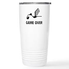 Funny birth game over Travel Mug