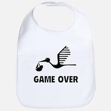 Funny birth game over Bib