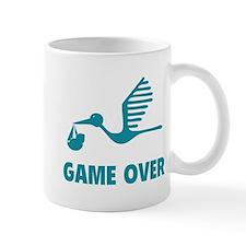 Funny birth game over Mug