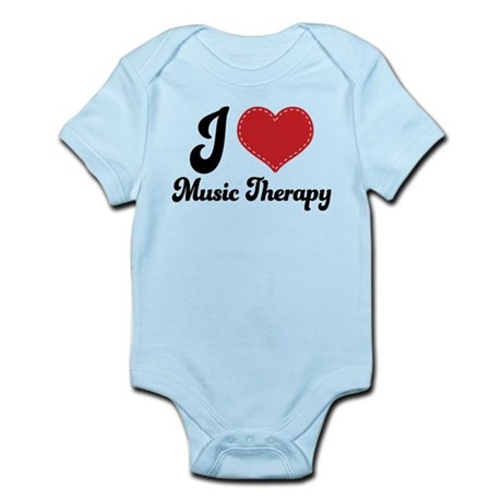 I Heart Music Therapy Infant Bodysuit