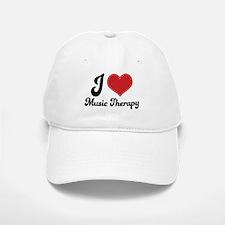 I Heart Music Therapy Baseball Baseball Cap