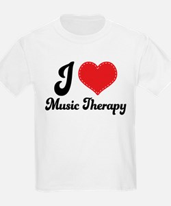 I Heart Music Therapy T-Shirt