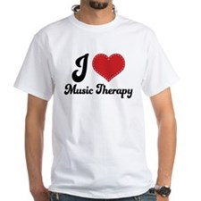 I Heart Music Therapy Shirt