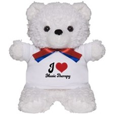 I Heart Music Therapy Teddy Bear