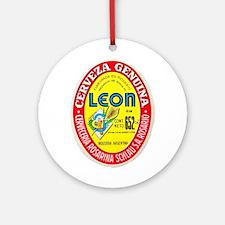 Argentina Beer Label 4 Ornament (Round)