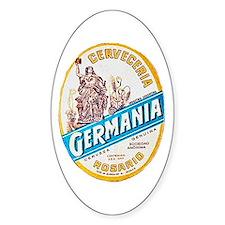 Argentina Beer Label 3 Decal