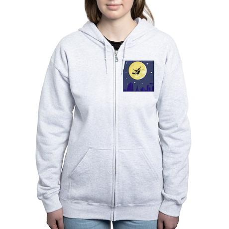 Moon Women's Zip Hoodie