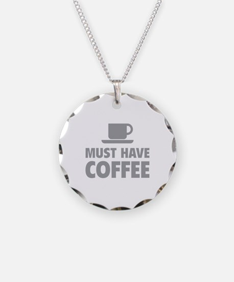 Must Have Coffee Necklace